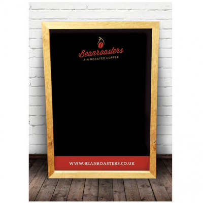 Beanroaster Coffee Blackboard Advertising Brand Building for Cafe