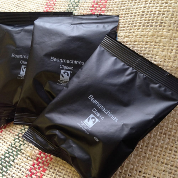 Beanroasters Classic Fairtrade Coffee Sachets Commercial
