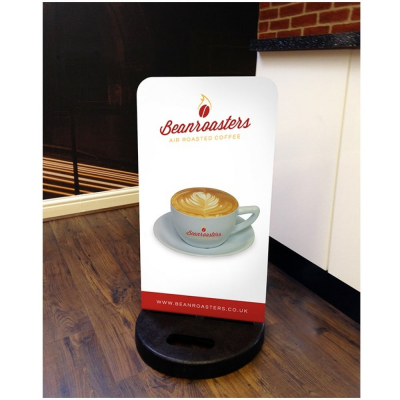Beanroasters Swing Board Coffee Sign for Cafes and Restaurants
