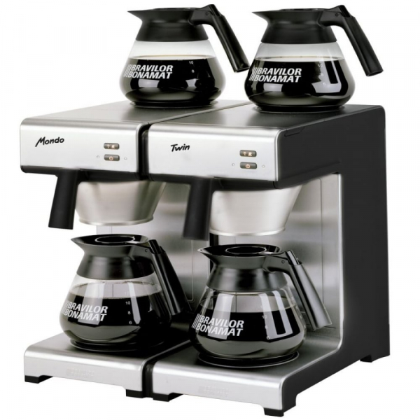 Bravilor Mondo Commercial Filter Coffee Machine Twin