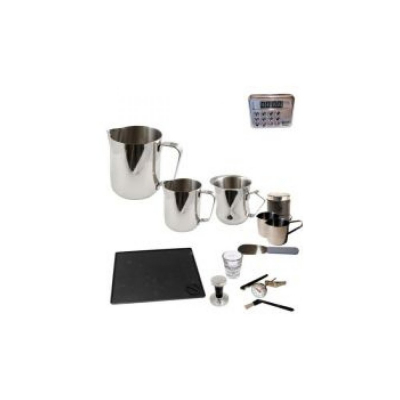 Budding Enthusiasts Professional Coffee Machine Barista Pack