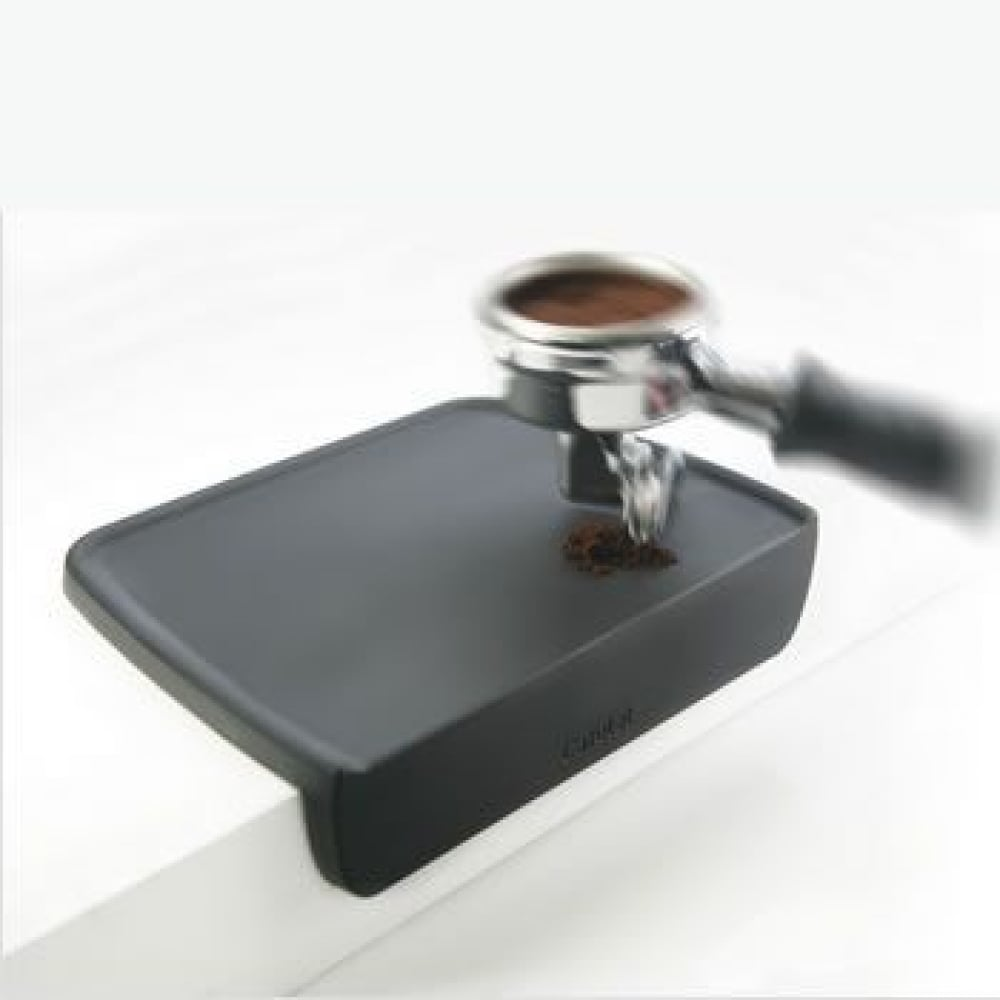 Cafelat Professional Coffee Group Head Tamping Mat Silicone Corner