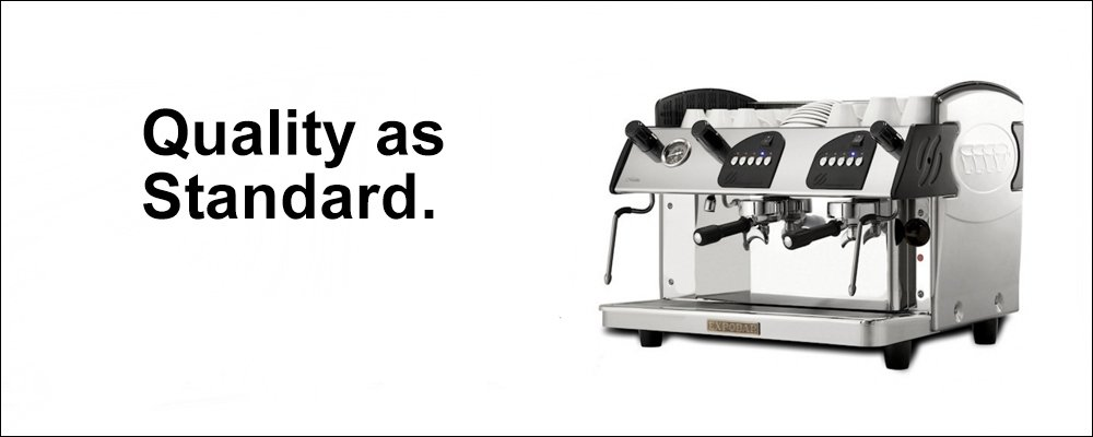 Expobar Markus Compact Commercial Traditional Espresso Machine Quality as Standard