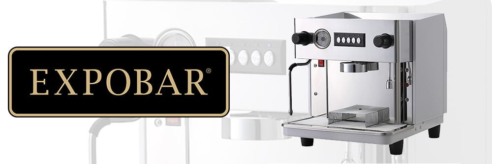 Expobar Monroc 1 Group Commercial Espresso Machine Banner