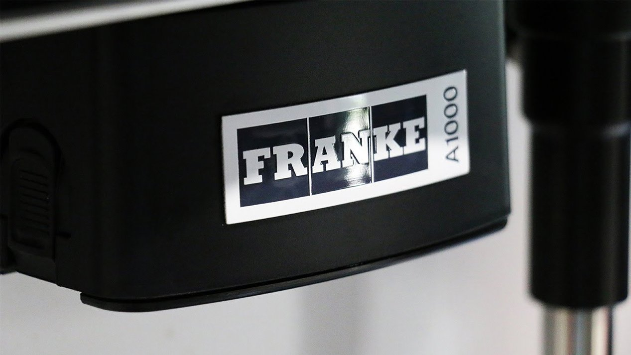 Franke A1000 Commercial Bean to Cup Coffee Machine Close Up