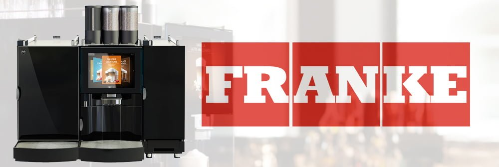 Franke Foammaster FM850 Commercial Bean to Cup Coffee Machine Banner