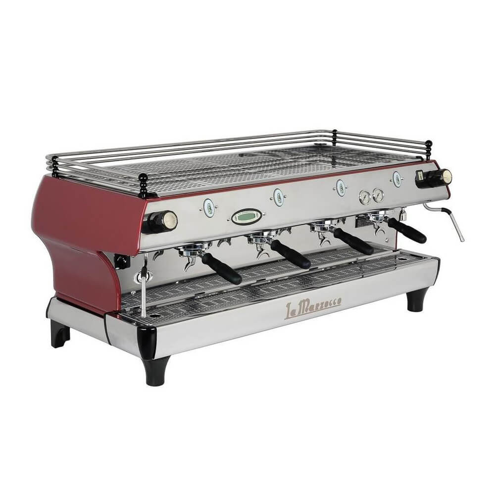 La Marzocco FB80 Traditional Commercial Coffee Machine 4 Group Angled