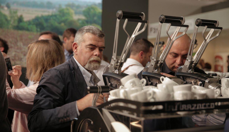 La Marzocco Leva X Manual Lever Operated Professional Espresso Machine Expo Barista