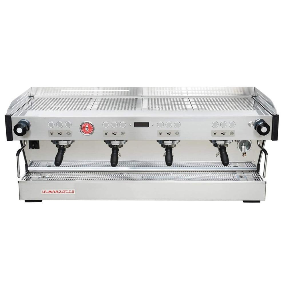 La Marzocco Linea PB Professional Traditional Espresso Machine Front 4 Group