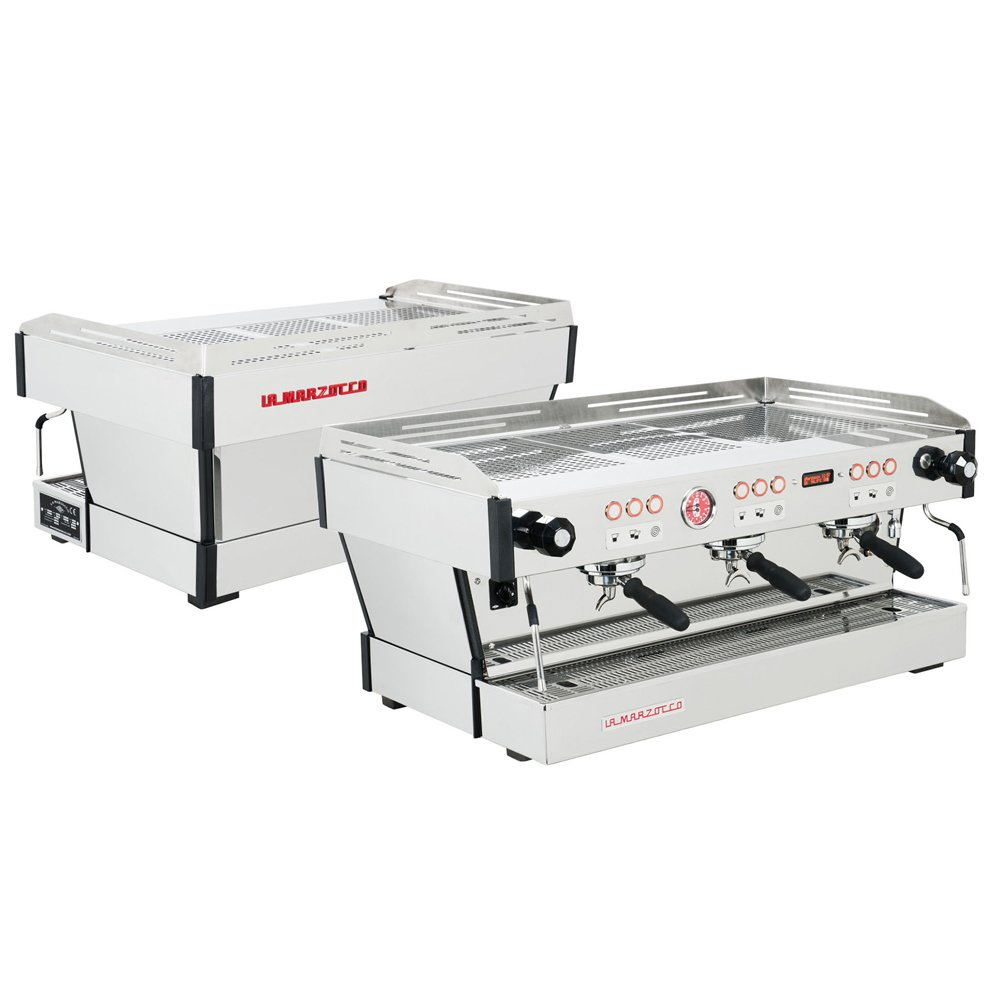 La Marzocco Linea PB Professional Traditional Espresso Machine Front and Back
