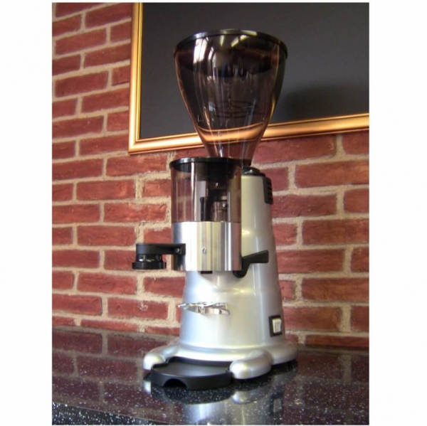 MACAP M7 Manual Commercial Coffee Grinder Cafe Angled Right