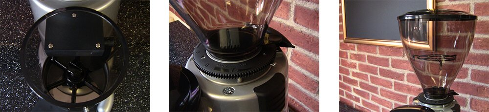 MACAP M7K Automatic Coffee Grinder Detail
