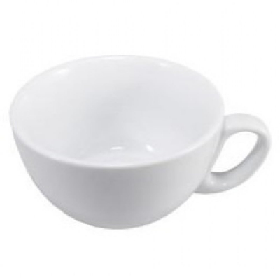 Round Porcelain Cup (Box of 24) for Cafes and Restaurants