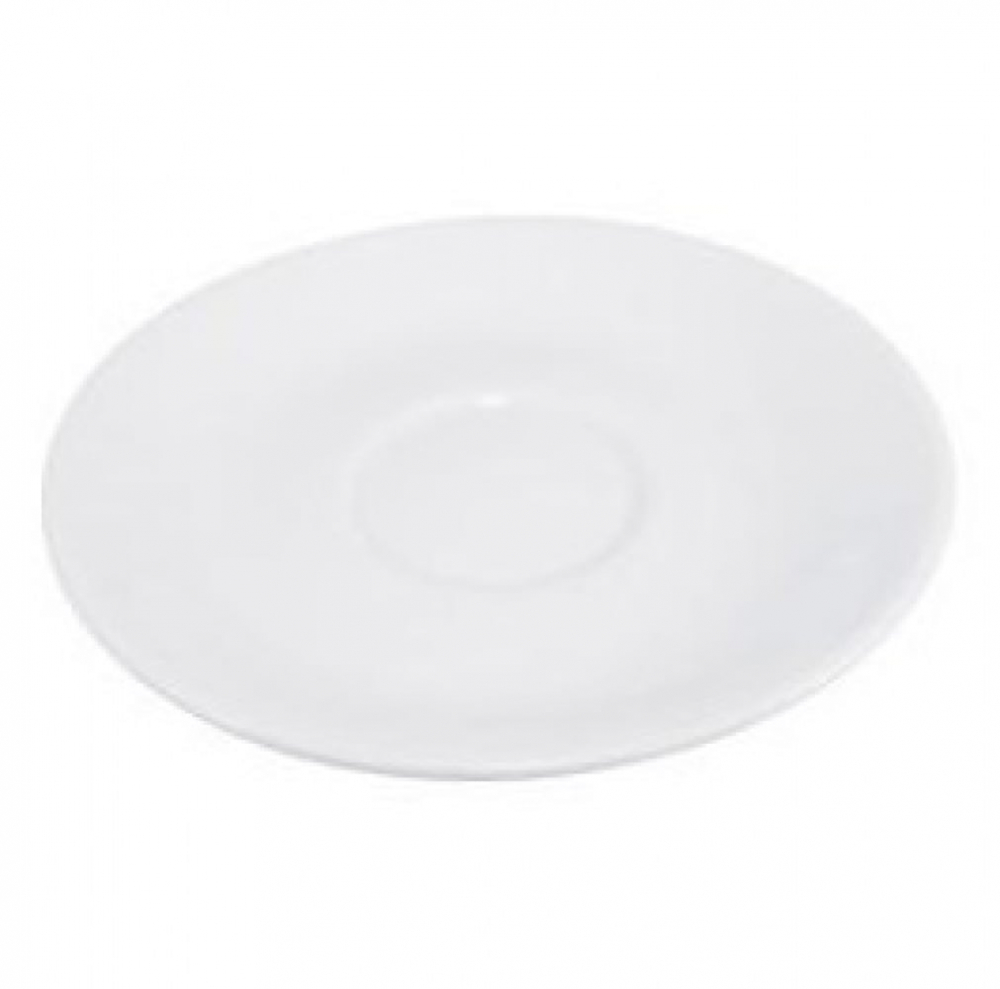 Saucer for Round Cup (Box of 24) for Cafes and Restaurants