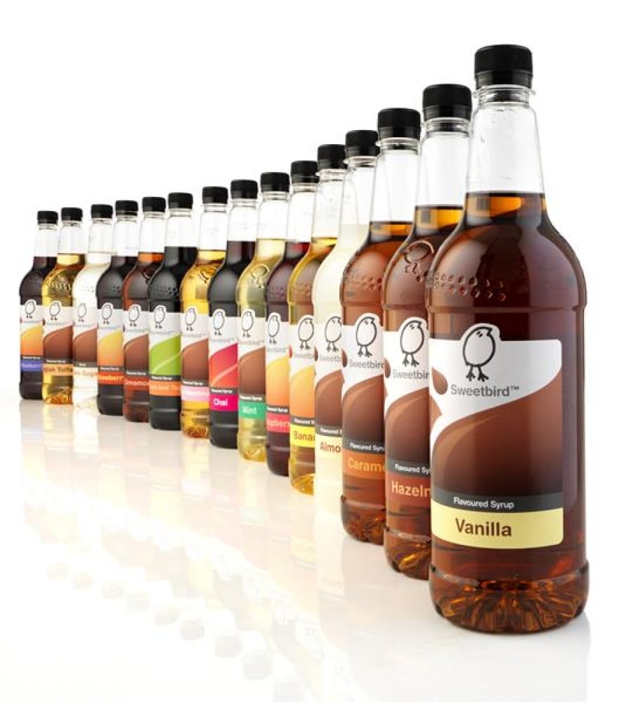 Sweetbird Flavoured Syrups