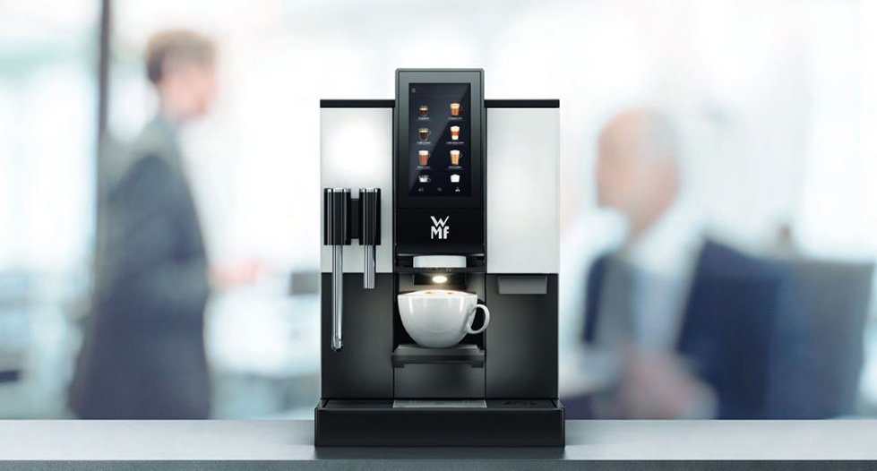 WMF 1100s Bean to Cup Professional Coffee Machine Office Capuccino