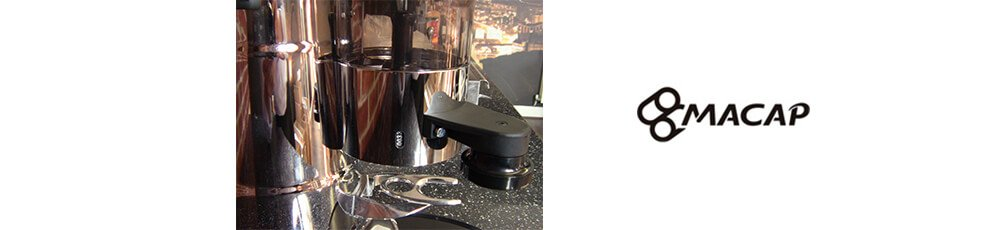 macap mxa automatic commercial coffee grinder close
