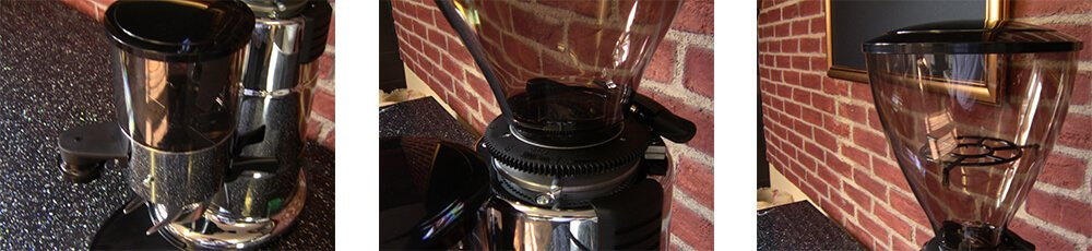 macap mxa automatic commercial coffee grinder detail