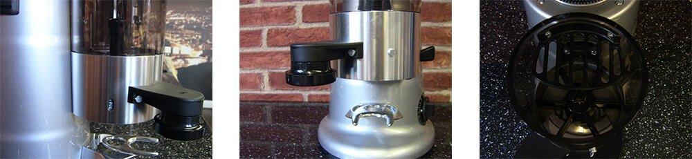 macap mxt commercial coffee grinder detail