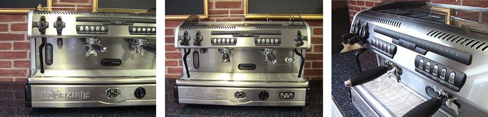 La Spaziale S5 Suprema Professional Coffee Machine Cafe Banner
