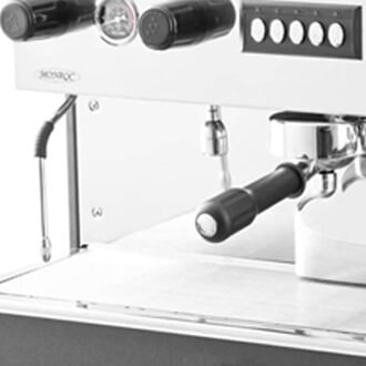 Expobar Monroc Commercial Coffee Machine Close Up