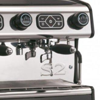 La Spaziale S2 Compact Commercial Espresso Machine Close Up