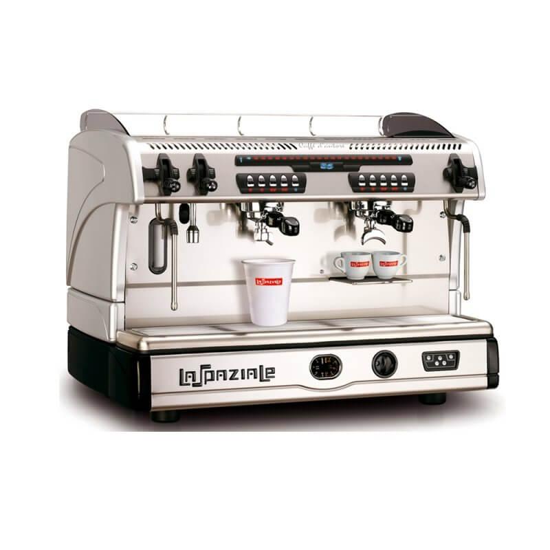 La Spaziale S5 Suprema Commercial Espresso Machine Takeaway Cups and Mugs