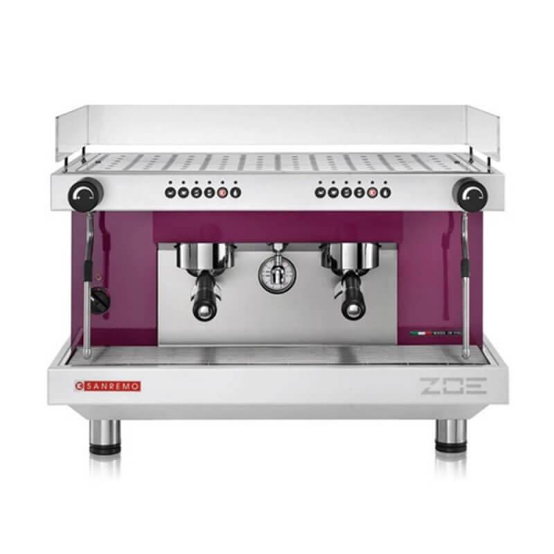 Sanremo Zoe Traditional Espresso Machine 2 Group